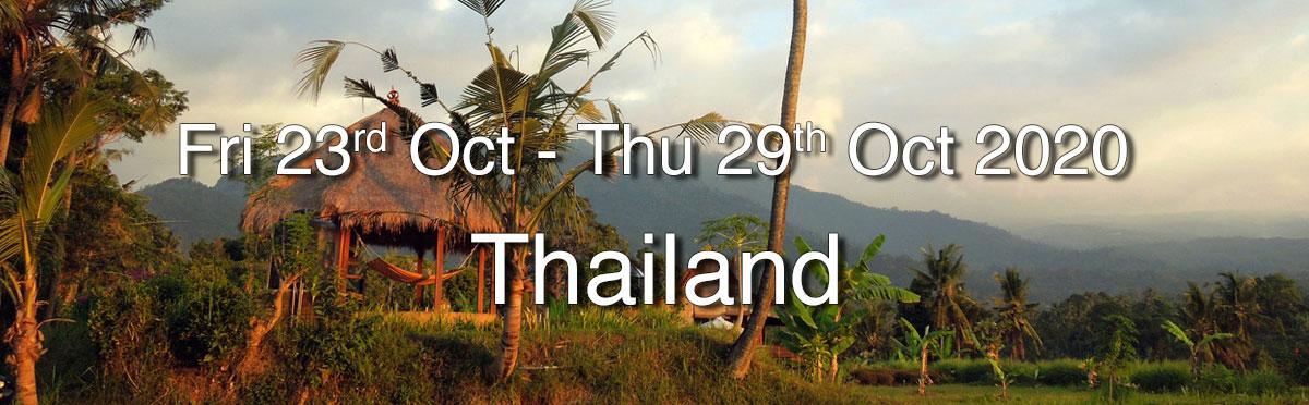 Heart of Qigong Retreat - Chang Mai, Thailand 2020